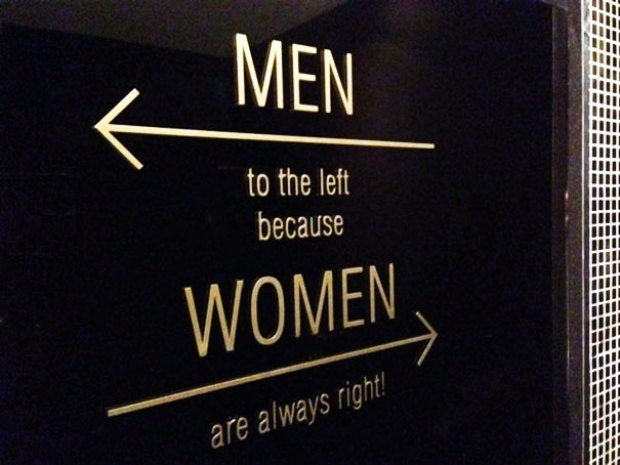 Creative Bathroom Signs