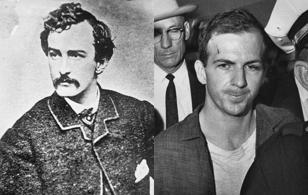 John Wilkes Booth and Lee Harvey Oswald