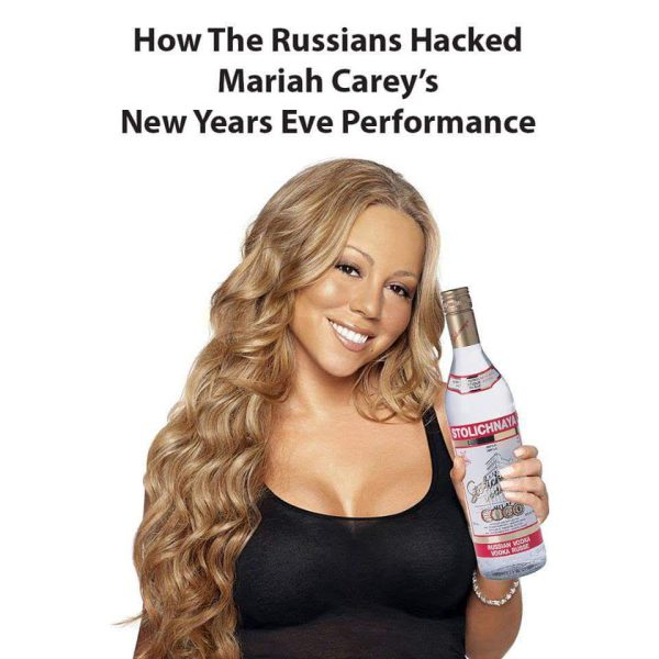 Proof - How The Russians Hacked Mariah Carey's New Years Eve Performance