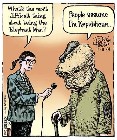 Cartoon Of The Day: The Elephant Man