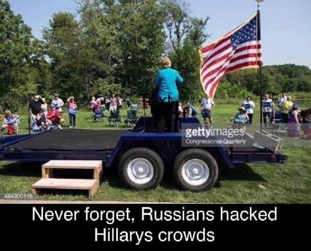 Hillary's Rallies - More Proof Of Russian Hacking