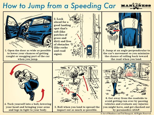 How To Of The Day: How to Jump From a Speeding Car