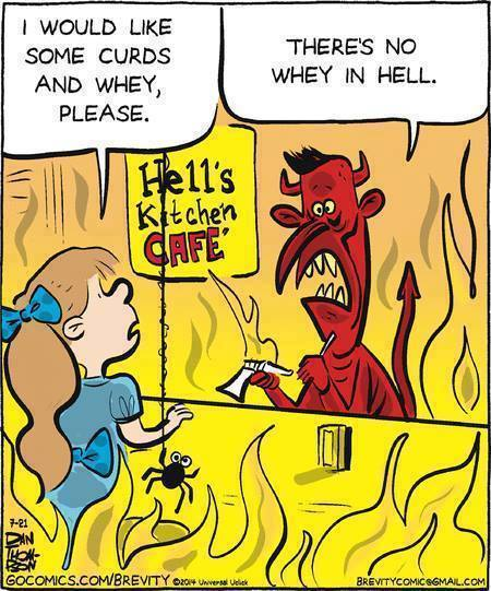 Cartoon Of The Day: In Hell's Kitchen