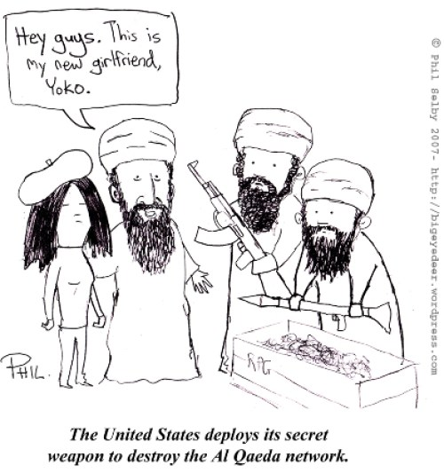 Cartoon Of The Day: US Secret Weapon
