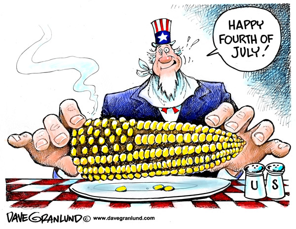 Cartoon Of The Day: Happy 4th Of July