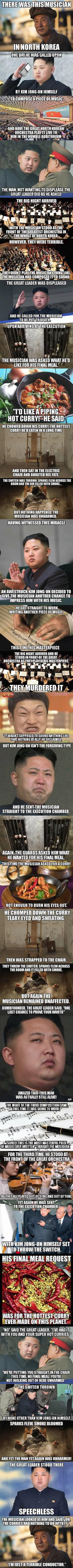 Kim Jong-un vs The Musician