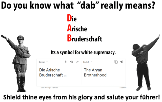"Do You Know What ""dab"" Really Means?"
