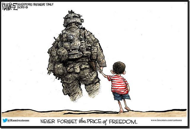 Cartoon Of The Day: The Price Of Freedom