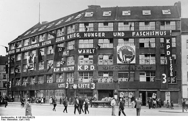 """Karl-Liebknecht-Haus, the KPD's headquarters from 1926 to 1933"