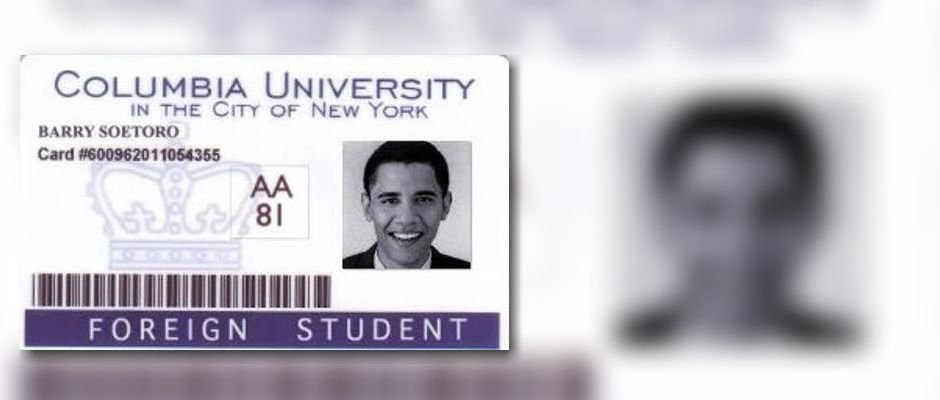 columbia university obama thesis Q: is it true that nobody remembers obama attending columbia universitya: at least one of his classmates remembers him well, and the university proudly claims obama.