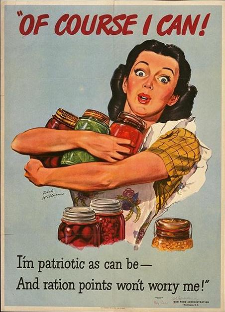 """Of Course I Can"" WWII poster"