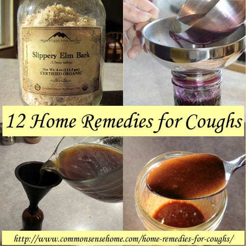 12 Home Remedies for Coughs @ Common Sense Homesteading
