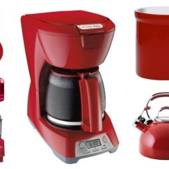 Amazon Kitchen Appliances Counter Decorating Ideas Red Appliance And Accessories Sale