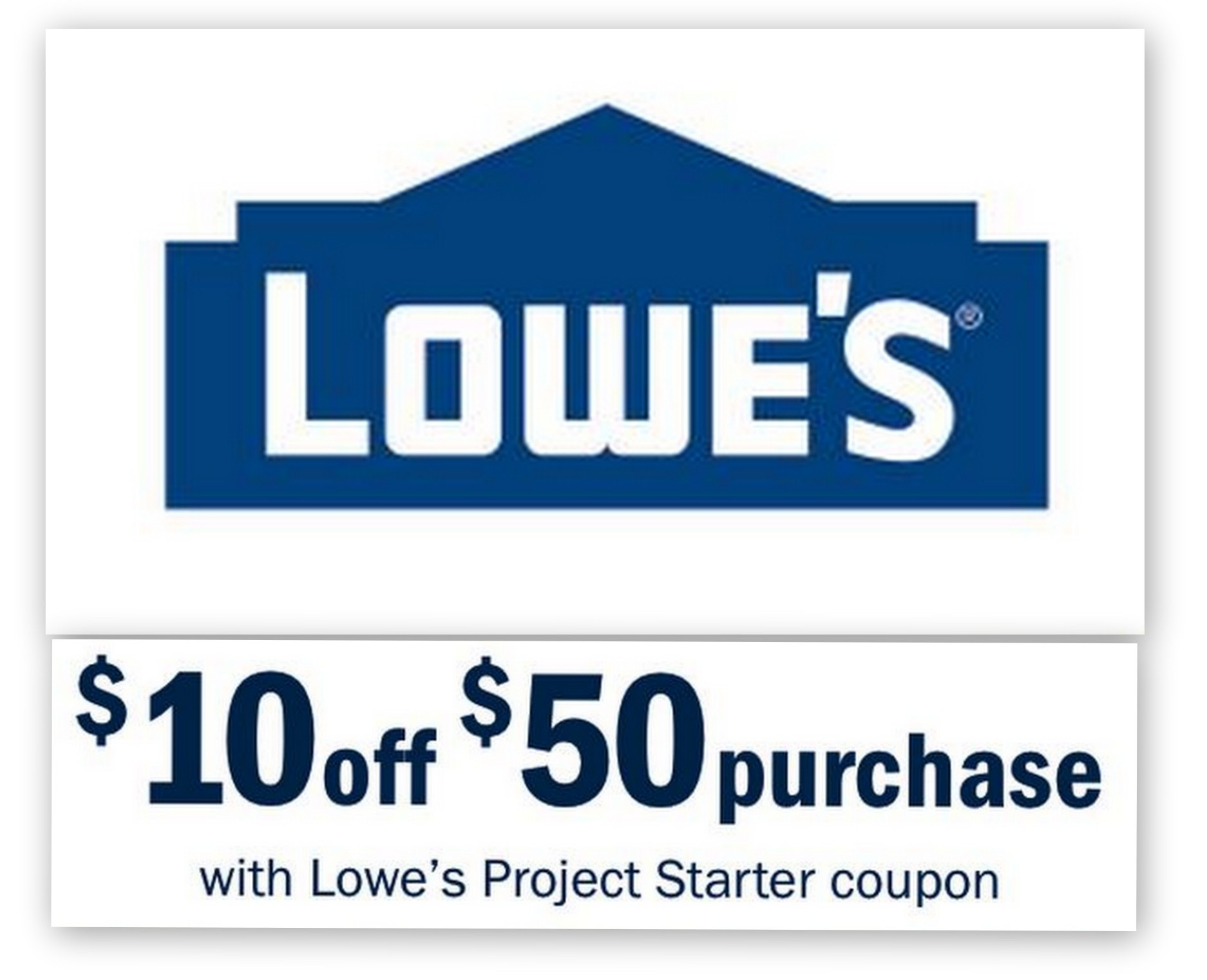 Lowes 10 Off 50 Entire Purchase Printable Coupon