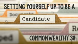 Setting Yourself Up to Be a Candidate