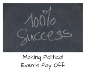 Making Political Events Pay Off