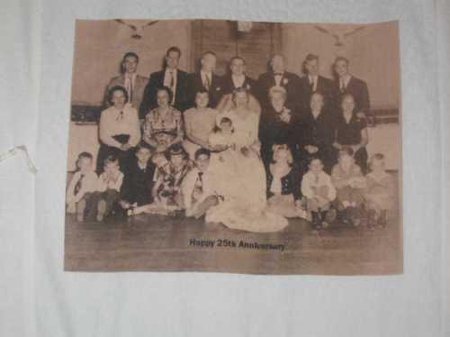 Vera and Rudy Polzer's wedding portrait