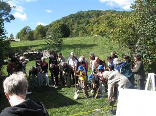 Buckland Library Groundbreaking