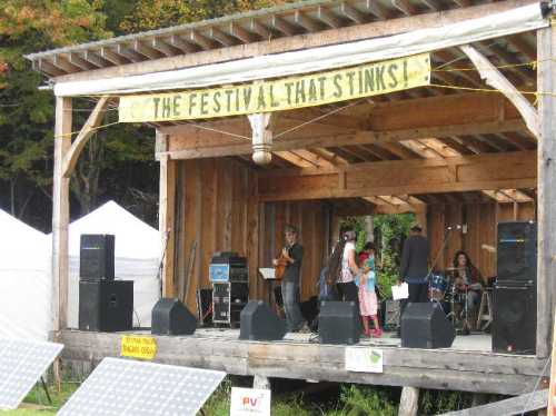 North Quabbin Garlic and Arts Festival Main Stage