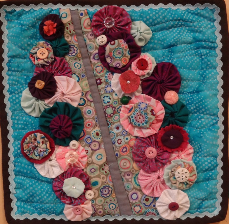 Amy Love's Quilted Bridge of Flowers