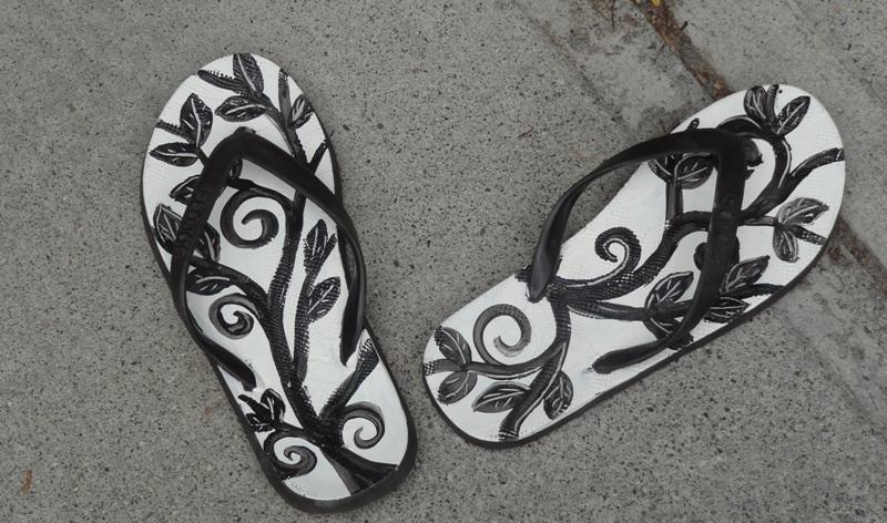 Molly Cantor flip flops