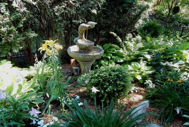 Dan And Dianneu0027s Small Fountain And Birdbath