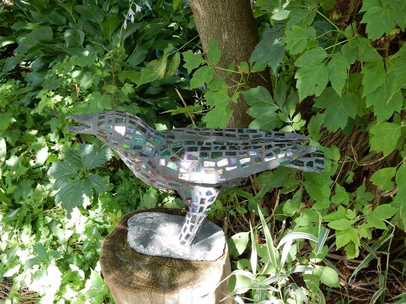 Woutrina DeRaad mosaic blackbird