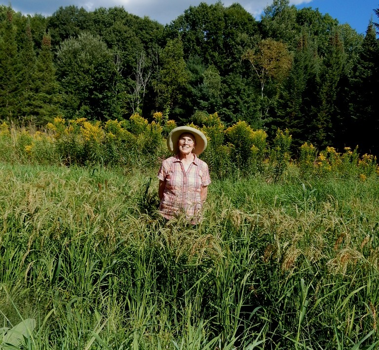 Me in the Wildside rice field