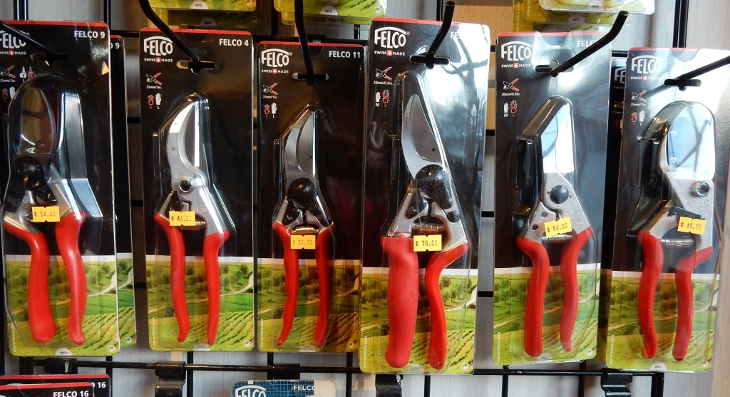 Full range of Felco pruners at Oesco in Conway