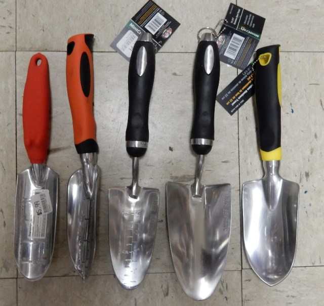 Trowels at Greenfield Farmers Coop