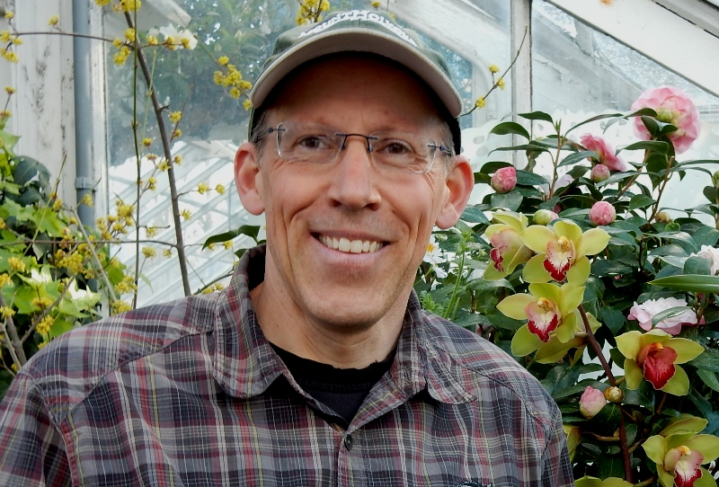 Thomas Clark, Director of the Mount Holyoke College Botanic Garden
