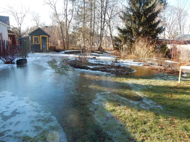 Rain Flood Ice