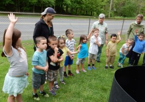 Compost Tour at the Academy of Early Learning