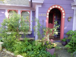 Lucinda Hutson's door