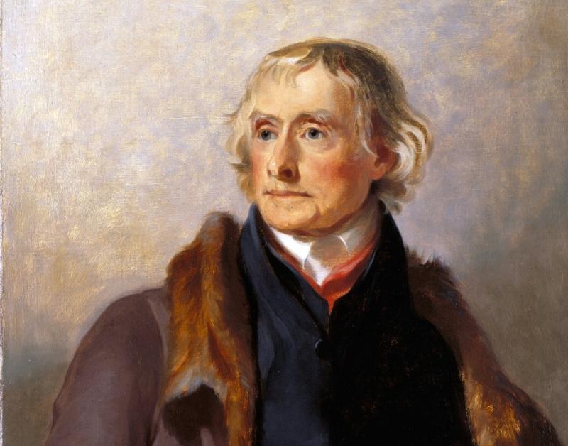 Sully portrait of Thomas Jefferson