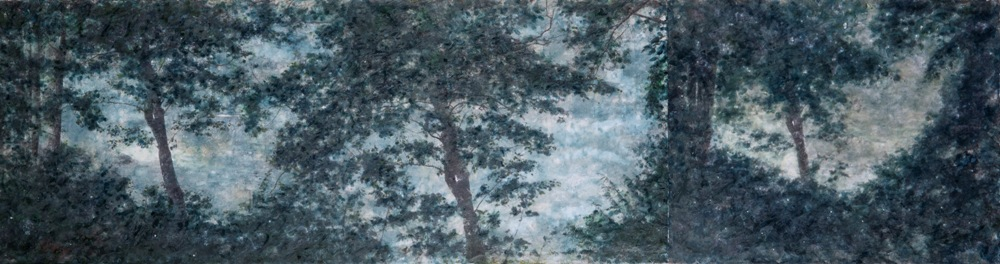 Christin Couture encaustic painting