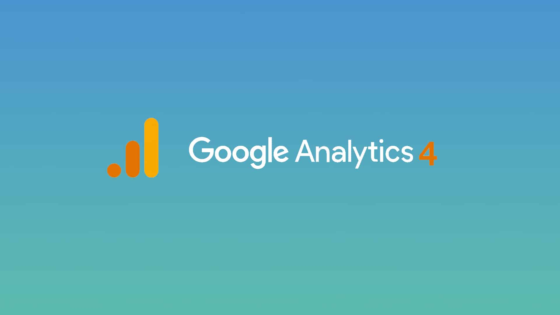 Google Analytics 4 bannière