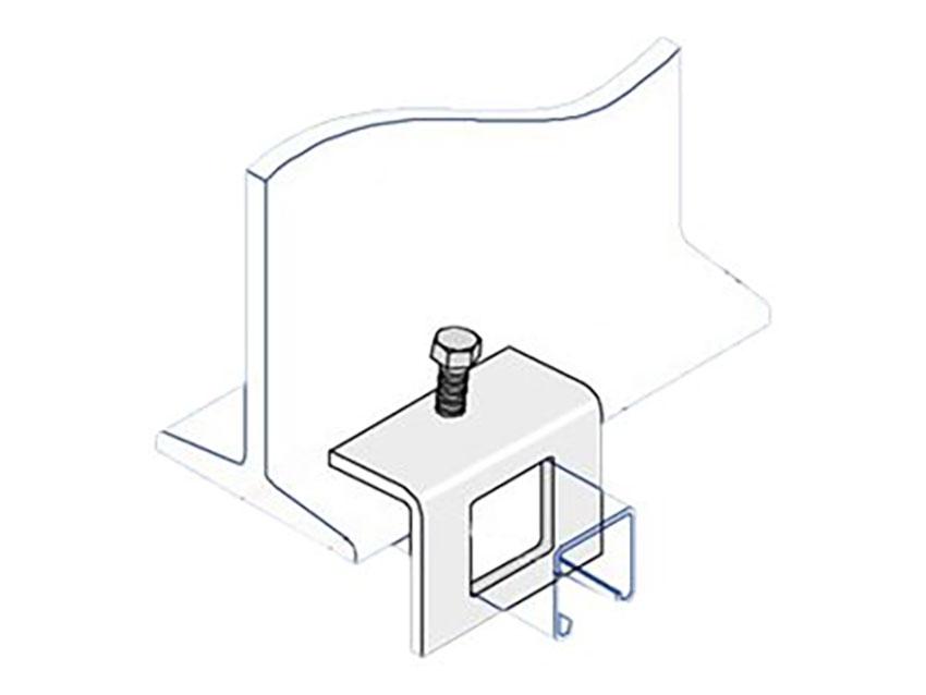 Unistrut P1796 Unistrut Steel Window Bracket Beam Clamp