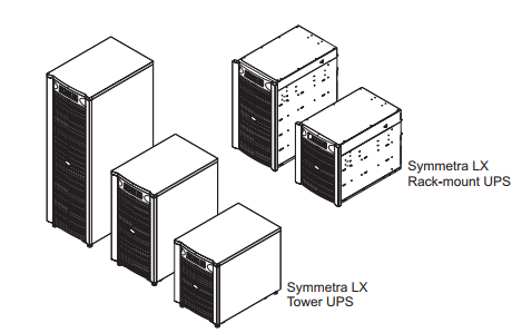 APC Symmetra LX Electrical Installation Guide Tower