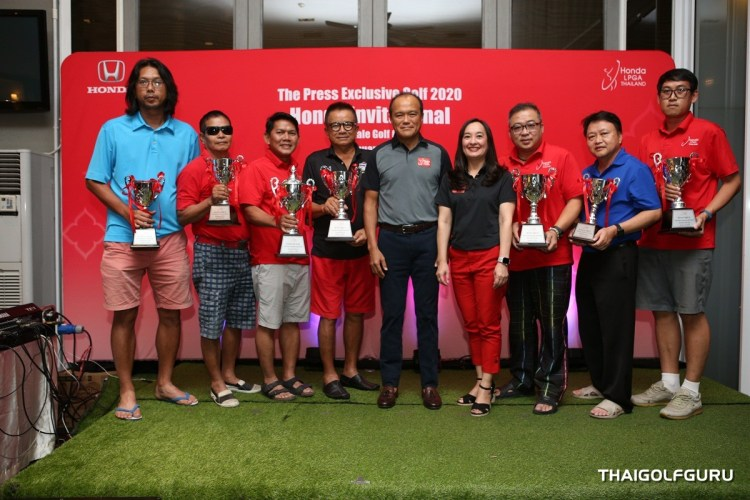 Honda Press Exclusive Golf 2020 - Honda Invitational @ Riverdale Golf Club 24 Jan 2020