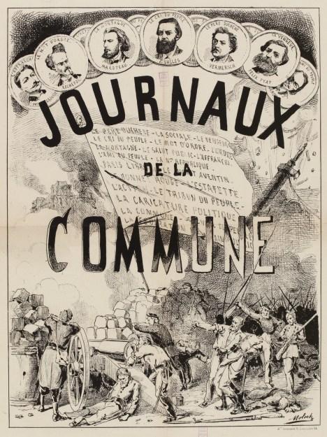 Journaux de la Commune par Moloch (Musée Carnavalet - Histoire de Paris)