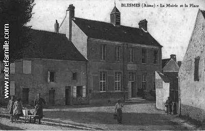 Blesmes 02400 Aisne  la ville Blesmes sa mairie et son village sur Communescom