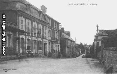 Glos 14100 Calvados  la ville Glos sa mairie et son village sur Communescom