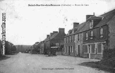 SaintMartindesBesaces 14350 Calvados  la ville SaintMartindesBesaces sa mairie et son