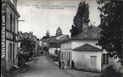 NieulleVirouil 17150 CharenteMaritime  la ville NieulleVirouil sa mairie et son