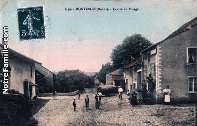 Montenois 25260 Doubs  la ville Montenois sa mairie
