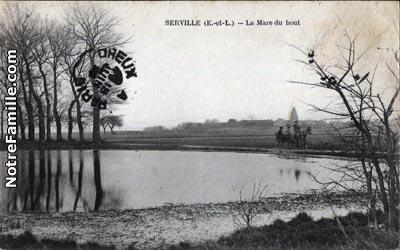 Serville 28410 EureetLoir  la ville Serville sa mairie et son village sur Communescom