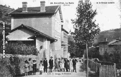 Malleval 42520 Loire  la ville Malleval sa mairie et son village sur Communescom