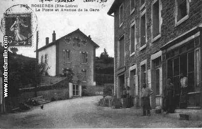Rosires 43800 HauteLoire  la ville Rosires sa