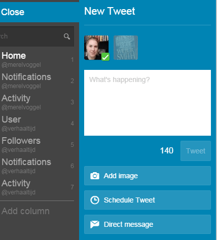 Sociale tools: Tweetdeck